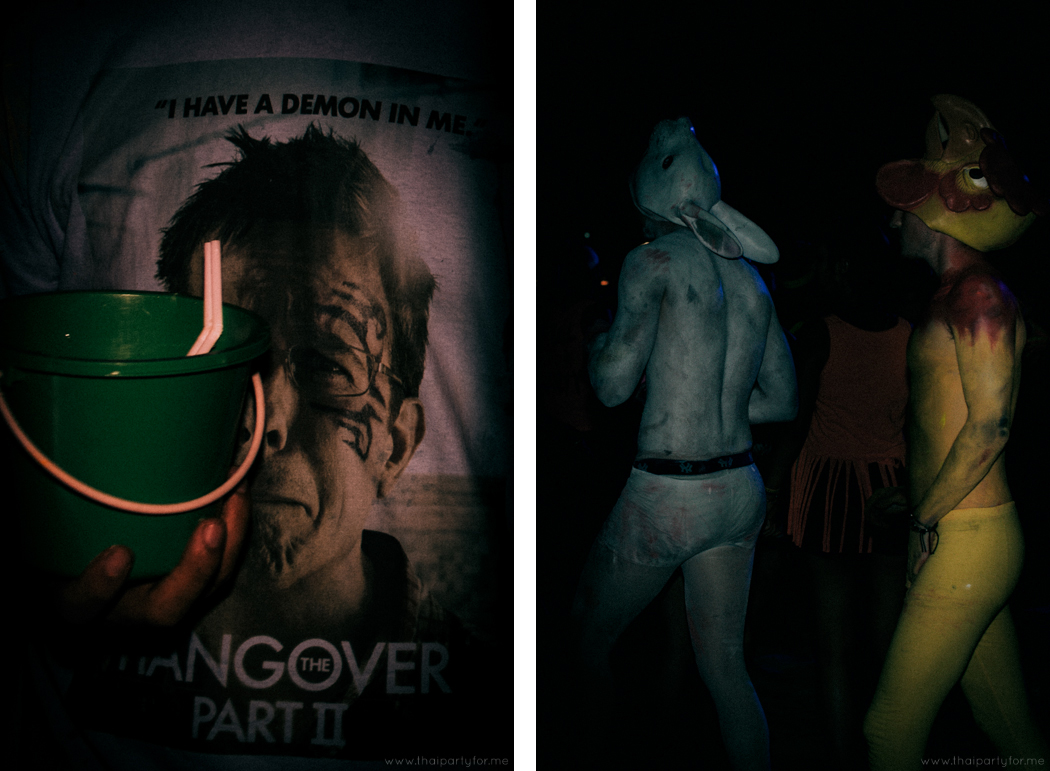 Full Moon Party August 2014 Photo 12. Hangover.